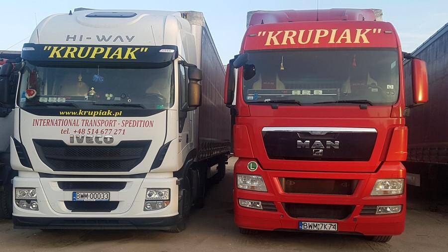 transport krajowy międzynarodowy Zambrów